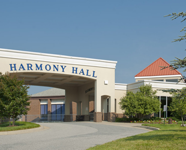 Lorien Harmony Hall Front of Building