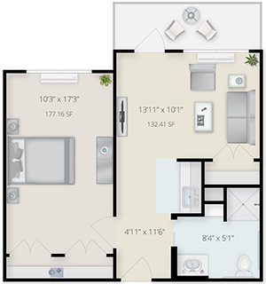 Taneytown_FloorPlans_Furnished_LHS_TT_1b1b-Patio_staged_rev2.jpg